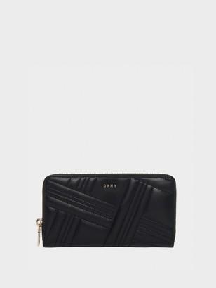 DKNY Allen Large Leather Zip-around Wallet