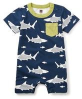 Tea Collection Infant Boy's Sharks Romper