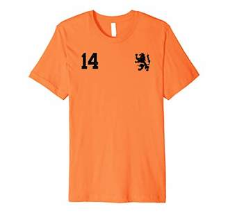 Retro Netherlands Soccer Jersey Nederland Football T-Shirt
