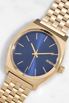 Nixon Time Teller Light Gold and Cobalt Watch