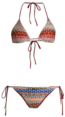 Missoni Mare 2-Piece Chevron Classic String Bikini Set