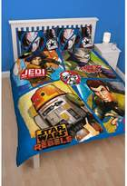Star Wars Childrens/Kids Rebels Reversible Duvet Cover Bedding Set (Double)