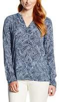 Seidensticker Women's Washer Fashion-Bluse 3/4-Lang Blouse,44 (EU)
