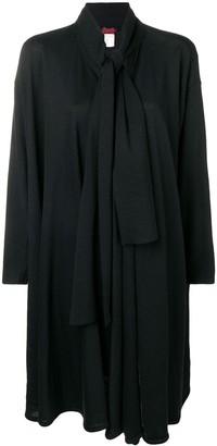 Kenzo Pre-Owned tie neckline draped jacket