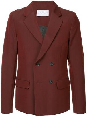 Strateas Carlucci Plated blazer