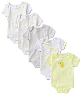 Starting Out Newborn-6 Months 5-Pack Duck Bodysuits