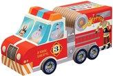 Crocodile Creek Fire Engine Truck 24 piece Jigsaw Vehicle Play Set Puzzle