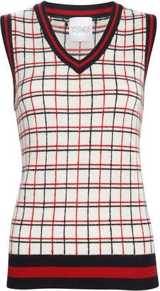 Madeleine Thompson Mirror Cashmere Sweater Vest