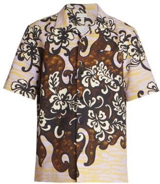 Dries Van Noten Carltone Short-Sleeve Printed Sport Shirt