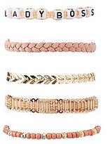 Charlotte Russe Lady Boss Layering Bracelets - 5 Pack