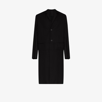 Haider Ackermann Officer Miles single-breasted coat