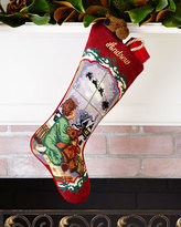 Sferra Baby Boy Needlepoint Stocking