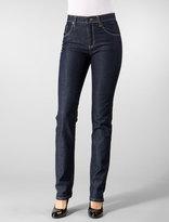 Highwaist/Straight Tylar Jean in Blue Rinse