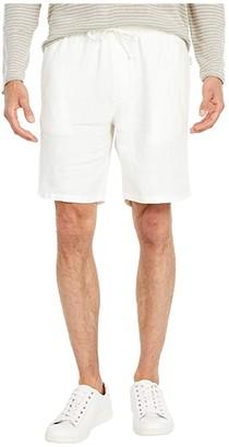 Onia Noah Shorts (White) Men's Shorts