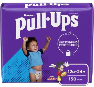 Pull-Ups Boys' Potty Training Pants Size 3, 12-24M, 150 Ct