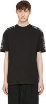 McQ by Alexander McQueen Black Numeral T-Shirt
