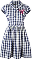 Love Moschino checked dress - women - Cotton - 38