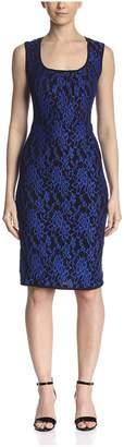 Melissa Masse Women's Lace Sheath Dress