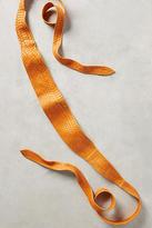 Anthropologie Tangerine Wrap Belt