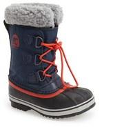 Sorel Kid's 'Yoot Pac' Waterproof Snow Boot