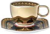 Versace Medusa Espresso Cup & Saucer