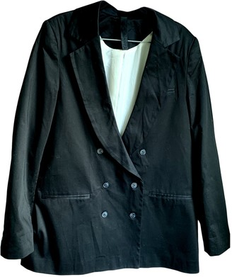 Gestuz Black Cotton Jackets