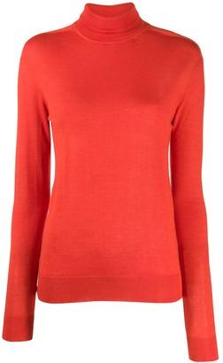 Jil Sander turtleneck cashmere knit top