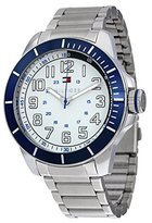 Tommy Hilfiger Silver Dial Stainlerss Steel Mens Watch 1791068