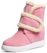 CapriccioSu Winter Snow Boot Women Fur Lined Ankle Boots-Waterproof- Heighten Inside