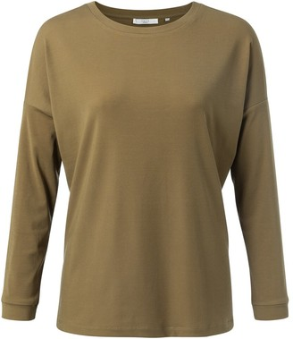 Yaya Clothing Amsterdam - Butternut Lyocell Crew Neck Top - XS