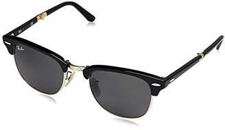 Ray-Ban RB2176 Clubmaster Folding Rectangular Sunglasses