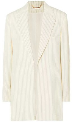 Pinstriped Canvas Blazer by Chloé, available on shopstyle.com for $1078 Gigi Hadid Outerwear SIMILAR PRODUCT