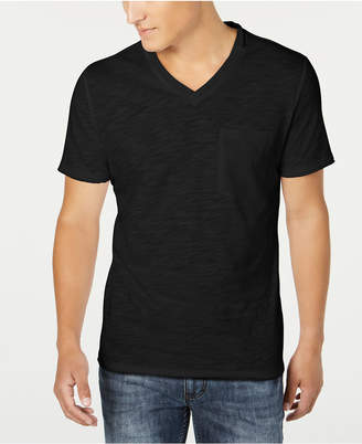 INC International Concepts Inc Men V-Neck Pocket T-Shirt