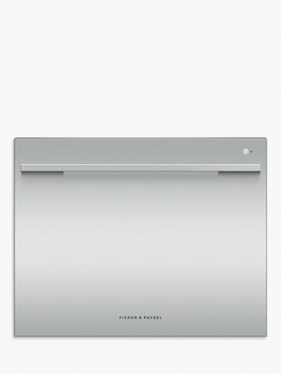 Fisher & Paykel DD60SDFHTX9 Single DishDrawer Integrated Dishwasher, Stainless Steel