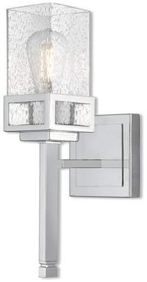 Livex Lighting Harding Polished Chrome Light Wall Sconce