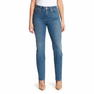 Gloria Vanderbilt Women's Petite Revolution Solution Straight Leg Jean
