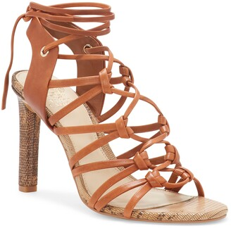 Vince Camuto Sherinda Cage Ankle Wrap Sandal