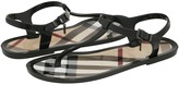 Burberry Jelly Thongs (Black) - Footwear