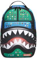Boy's Sprayground Emoji Shark Backpack - Green