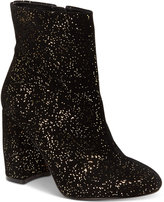 Nanette Lepore Nanette by Lilly Sparkle Block-Heel Booties Women's Shoes