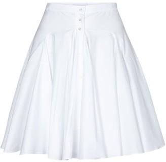 Alaia Edition 1987 cotton poplin miniskirt