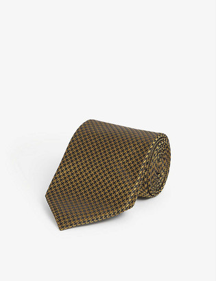 Tom Ford Solid-pattern silk-satin tie