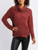 Charlotte Russe Chenille Turtle Neck Sweater