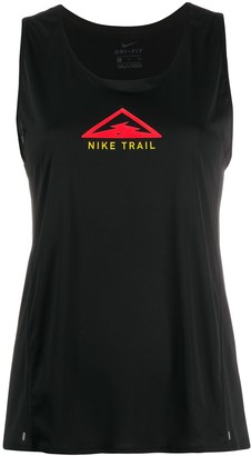 Nike Trail print racerback top