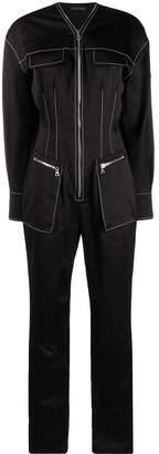 David Koma structured jumpsuit