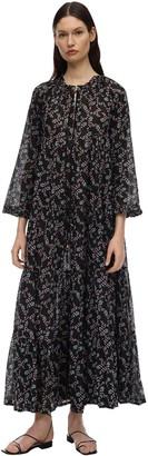 Yvonne S Hippy Cotton Voile Maxi Dress