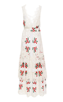 Brock Collection Sleeveless Cherry Lace Darling Dress