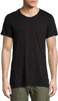 John Elliott Menswear Short-Sleeve Cotton Tee, Black
