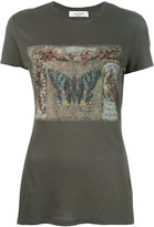 Valentino butterfly print T-shirt - women - Cotton - XS