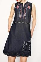Desigual Embroidered Dress